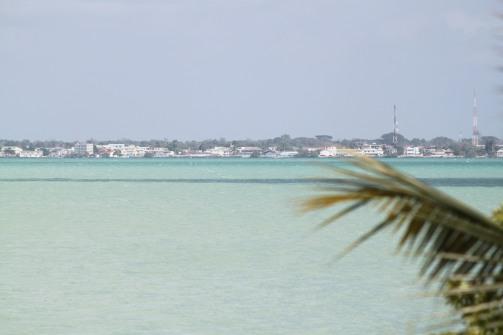 Corozal across the bay